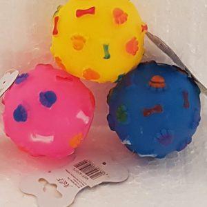 Pelota de Goma, Diversos Colores, 7 cm. de diámetro
